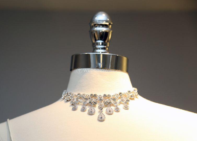 Bridal Drop Necklace
