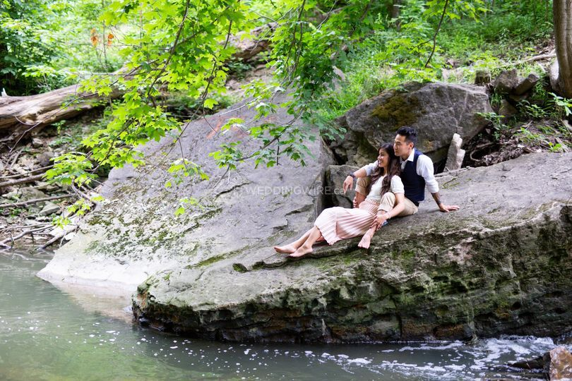 Engagement Shoot Albion Falls
