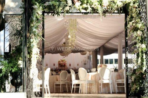 Montreal Wedding Venue Tent