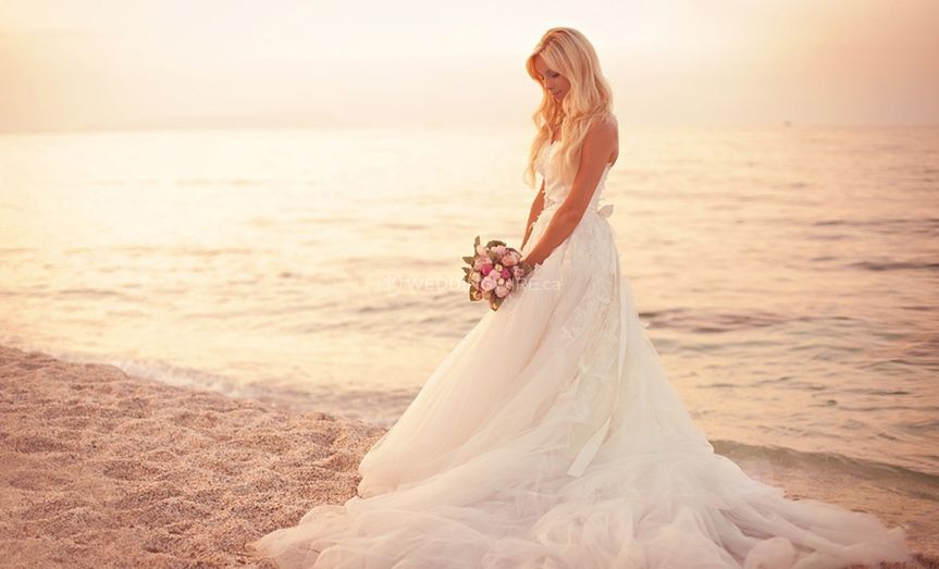 Bride by water