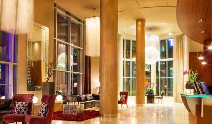Lobby - Hôtel Le Crystal