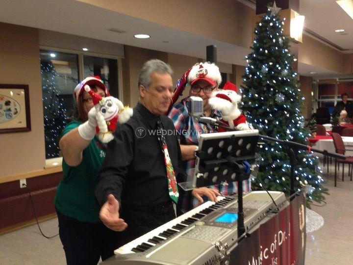 Dr. J Christmas Party Fun