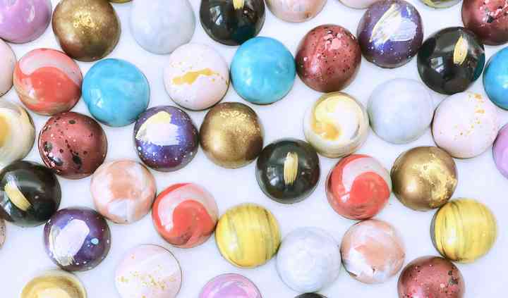 Hand Painted Bonbons