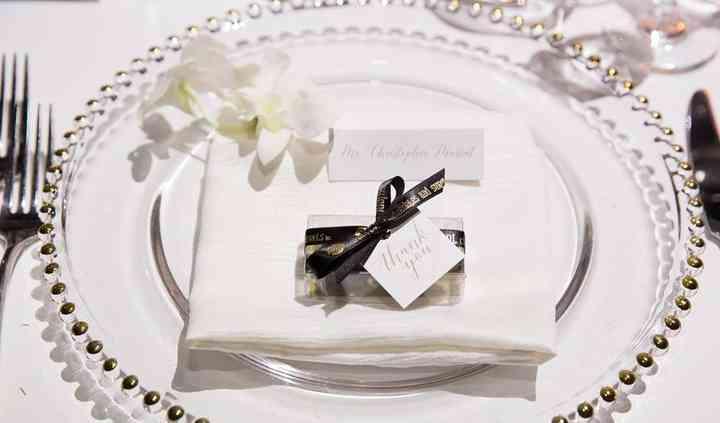 Box of 2 wedding favour