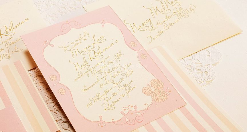 Card Me to You Carte Blanche WEDDING INVITATION Thank you for Small
