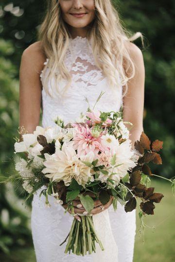 Custom organic florals