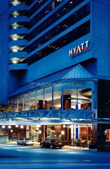 Hyatt regency vancouver wedding