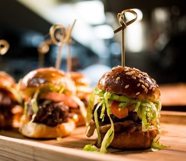 Beef Slider Canapes