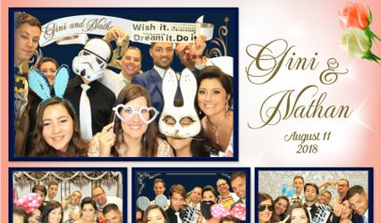 Shooting Stars Party Photo Booth 1