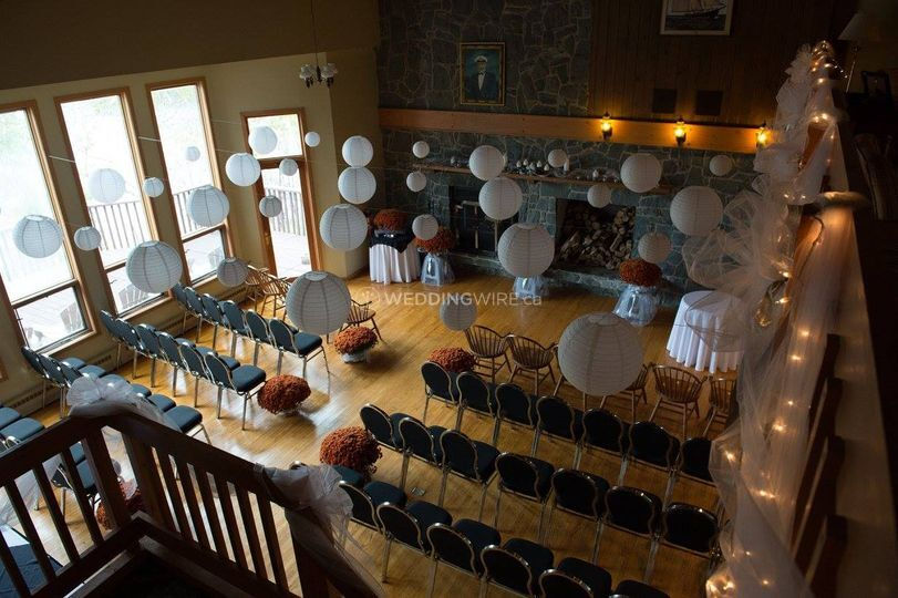 Nova Scotia Historic Lodge Wedding Venue