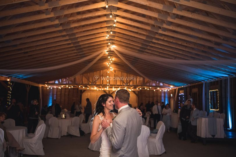 New pavilion  First dance