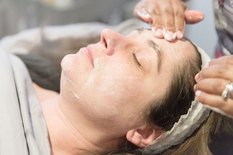 Cleansing facial massage