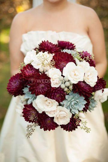 Mixed floral Bridal Bouquet