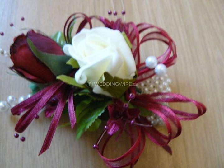 Mother's Pinned Corsage