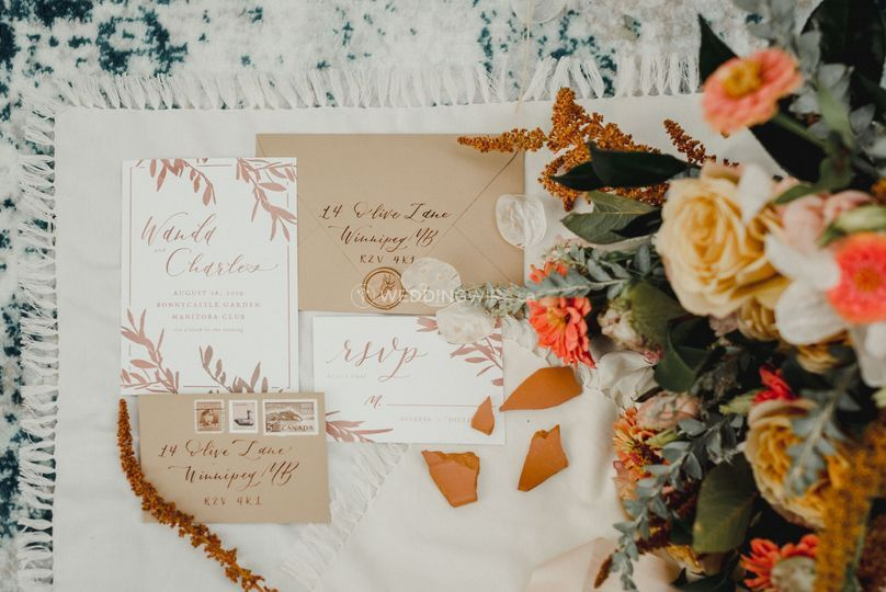 Olive branch invitations
