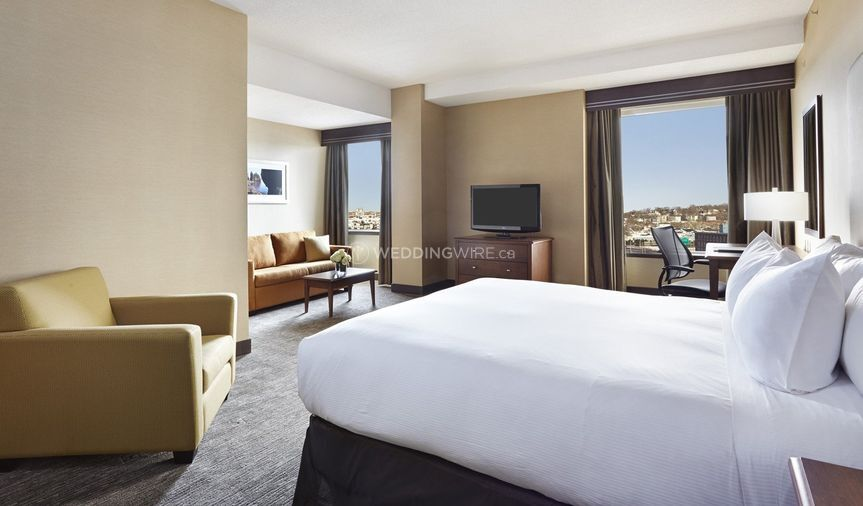 Waterview room with King Bed