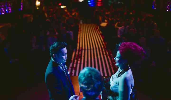 Tim Burton themed Wedding
