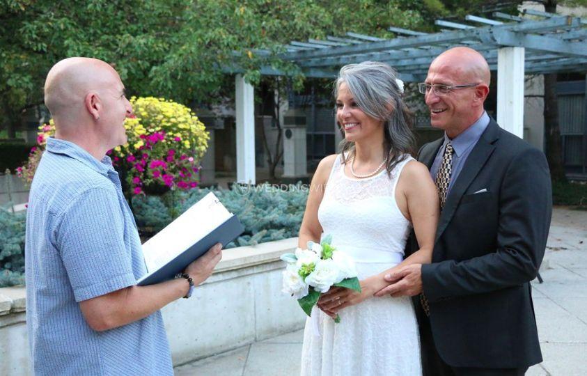 Outdoor Casual Wedding