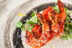 Tandoori shrimp