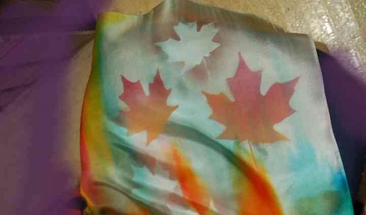 Golriz silk scarf