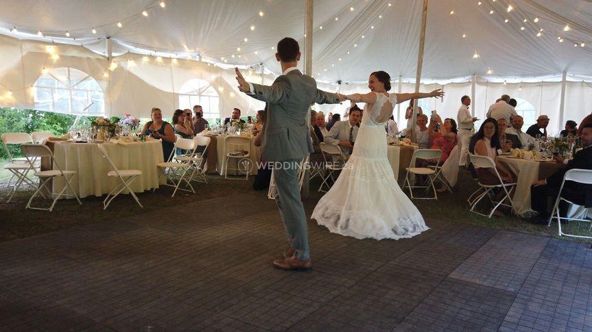 Muskoka Tent Wedding