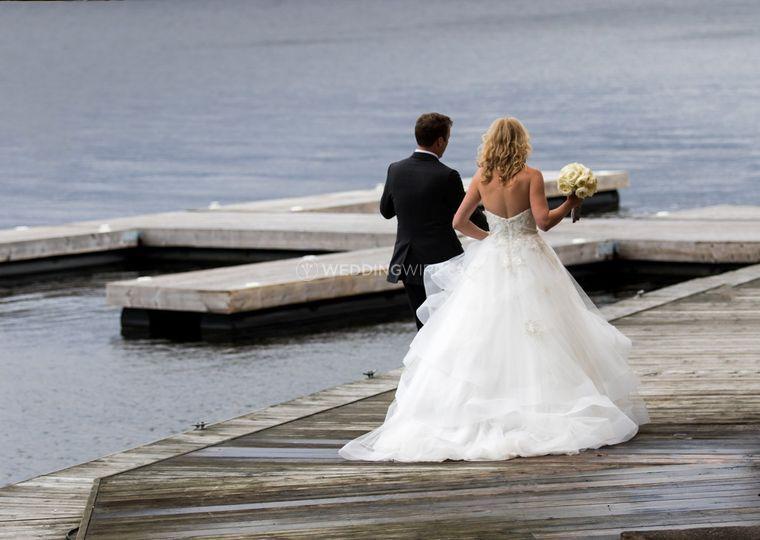 Wedding in the Muskoka's