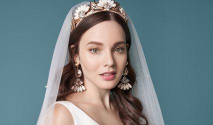 Blushing Bride Crystal Beach 1
