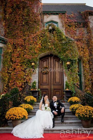 Autumn wedding West Island