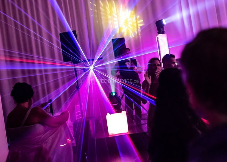 Cha cha time withe lasers