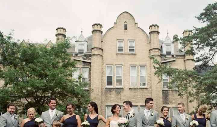Whitby ontario castle wedding