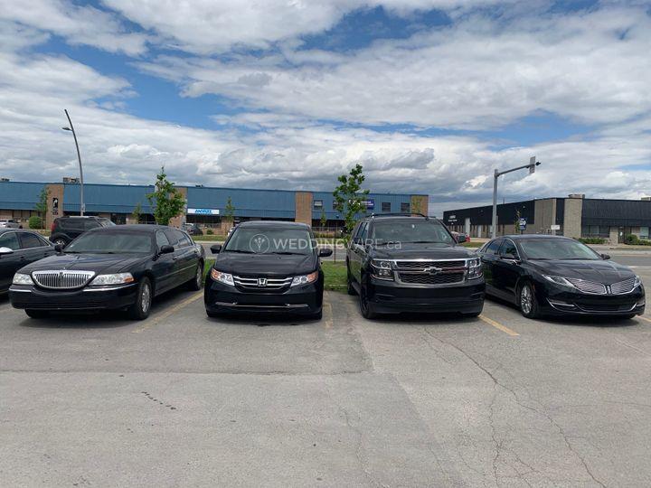 Blck sedan fleet
