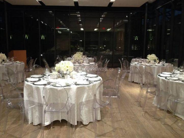 Gardiner Museum Downtown Toronto Wedding Reception Art Gallery
