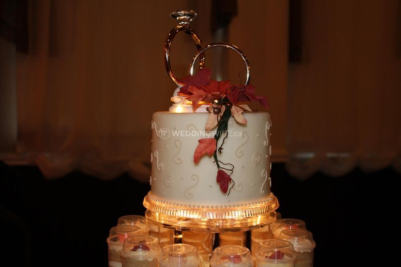Custom made wedding cakes