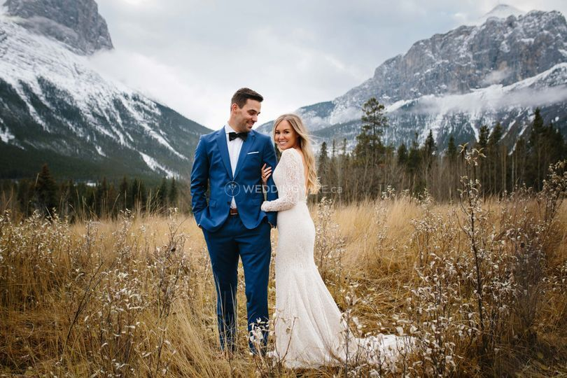 Intimate Wedding Canmore
