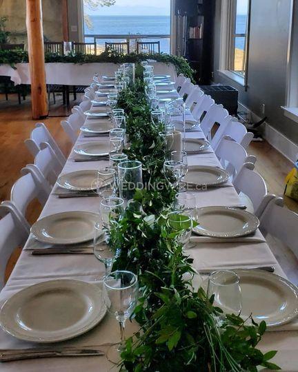 Greenery Themed Wedding