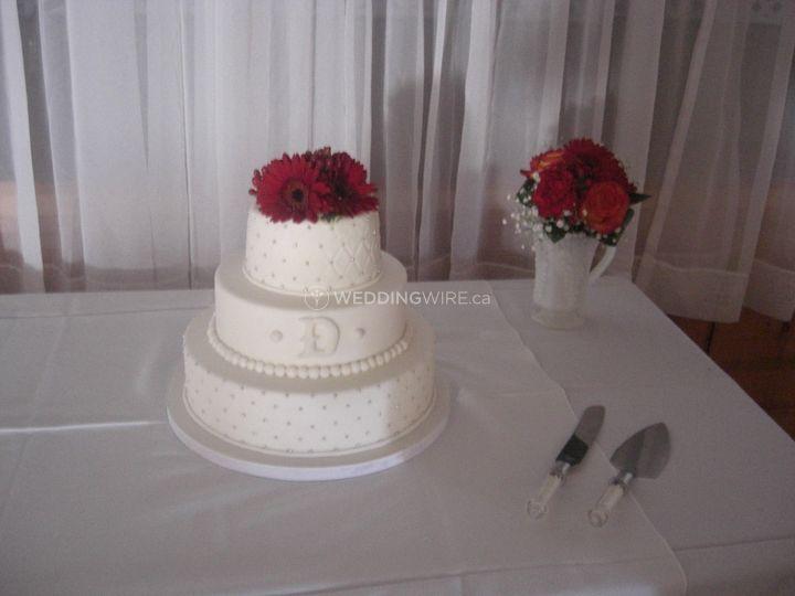 Weddingwire Custom Cake Design : Photo 63 of 71 - Sweet as Cake Custom Design