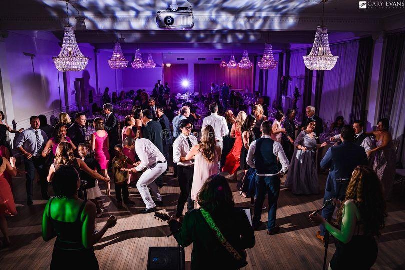 Crystal Ballroom - Dance Party