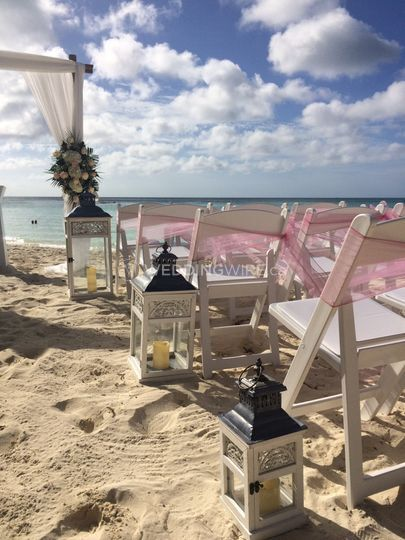 Aruba wedding 1