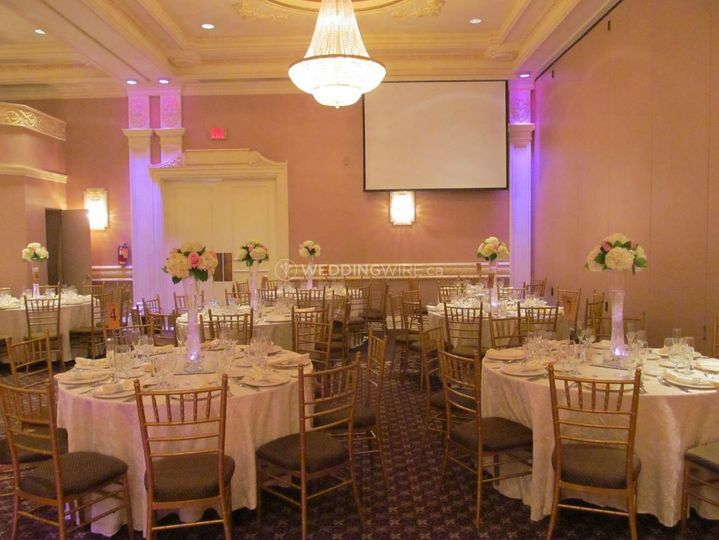 The Jewel Event Centre Banquet Hall Toronto Wedding Ceremony Reception Venue