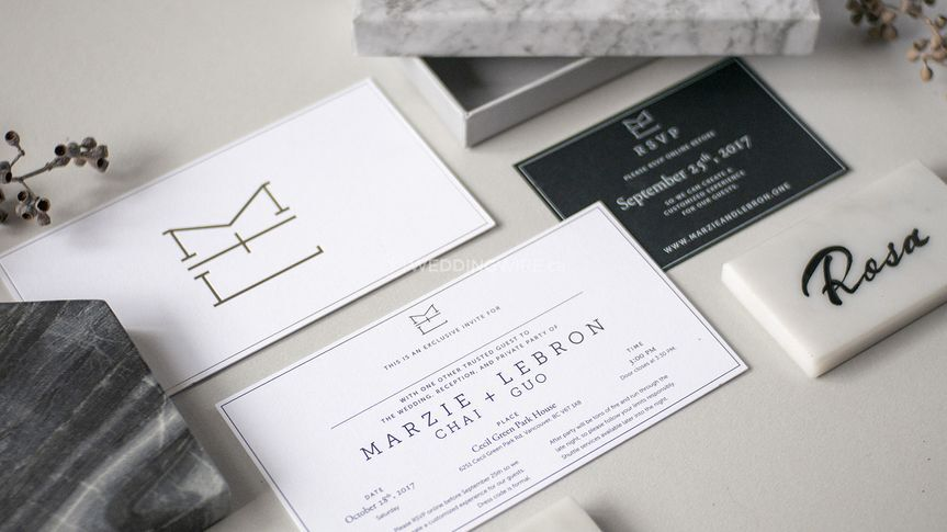 M&L Wedding Stationery