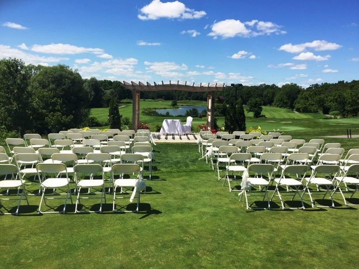 Ceremony gazebo