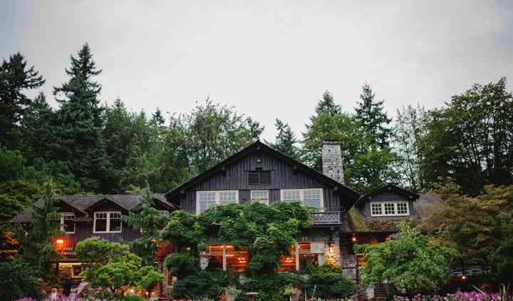 Vancouver garden wedding venue