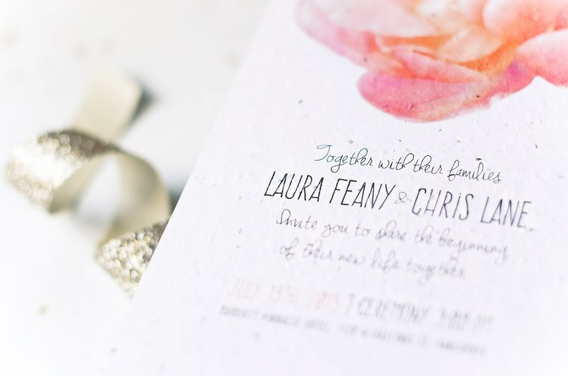 Laura & Chris // seed paper