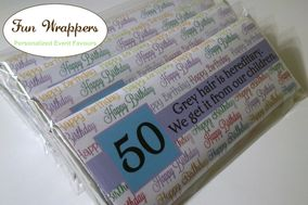 Fun Wrappers Personalized Event Favours