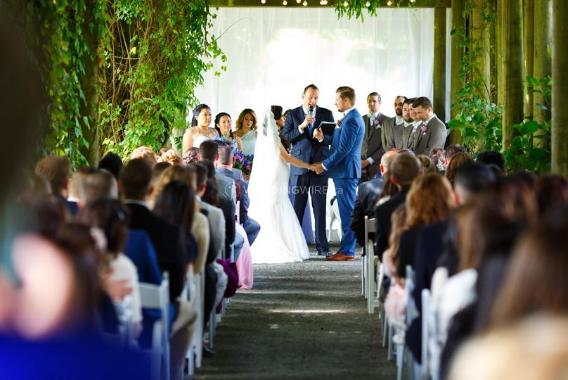UBC Botanical Garden Wedding