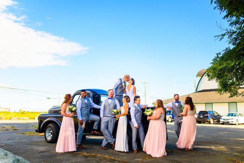 East Delta Hall Wedding