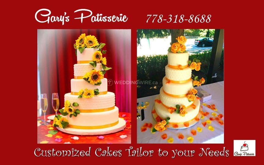 Wedding Cakes - 5Tier