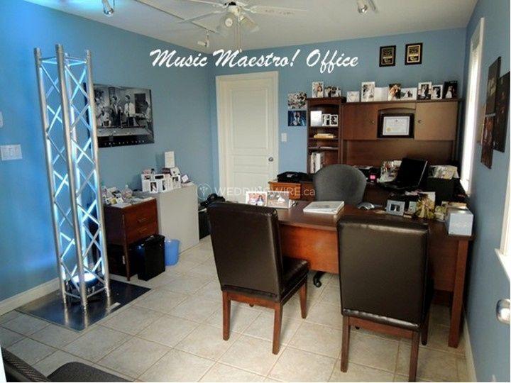 Music Maestro DJ Office