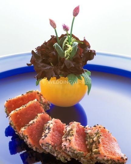 Salmon with Greens in Vase.jpg