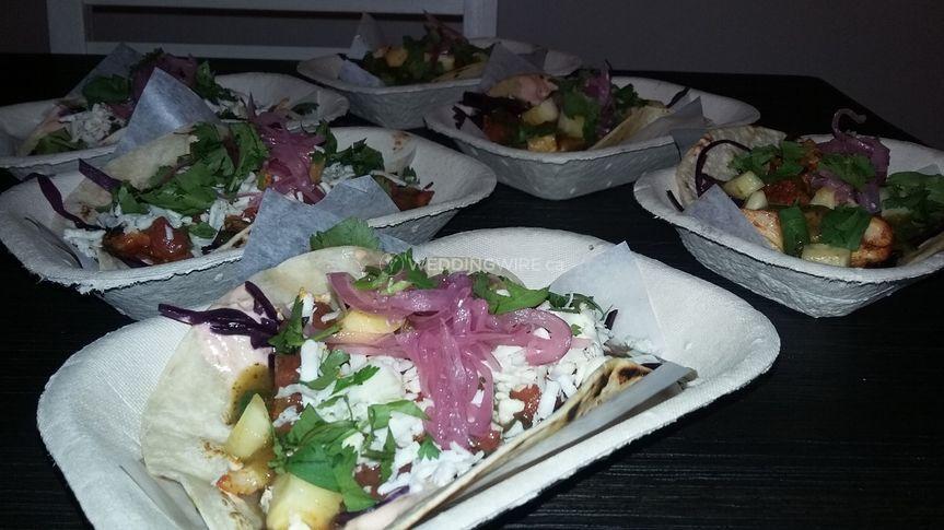 Sample tacos